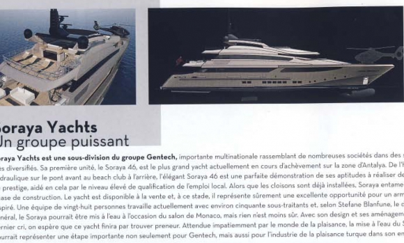 <span>YACHTS INTERNATIONAL France</span> September 2010
